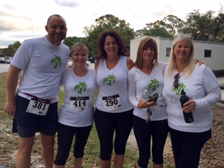 2015 Riverbend Park Green 5k run - Corporate Sponsor