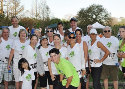 2013 Riverbend Park Green 5k run - Corporate Sponsor